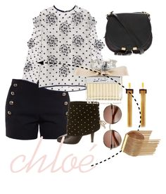 """chloè ✨'"" by swerahasan ❤ liked on Polyvore featuring Chloé"