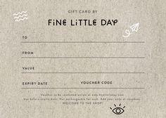 Fine Little Day - Gift Voucher 1000:-