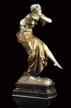 PAUL PHILIPPE |  DANCER SCULPTURE, CIRCA 1920