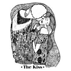 The kiss. Aire Retro