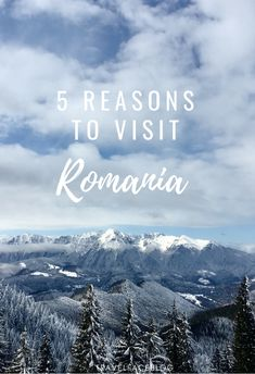 There is so much to see and do in Romania. This post gives five reasons why you should  visit.
