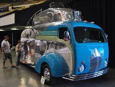 The Decoliner Handmade Airstream Travel Trailer - Blastolene's Randy Grubb