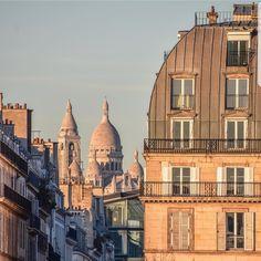 Montmartre depuis les Tuileries