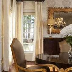 Golden Luxe Dining Room