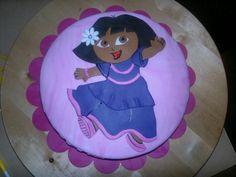 Dora taart voor Dianne