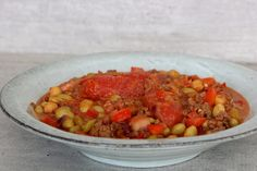 Koolhydraatarme Chili Con Carne Low Carb Chili, Low Carb Keto, Low Carb Recipes, Healthy Recipes, Chana Masala, Paleo, Lunch, Dinner, Eat