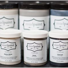 You thought you liked chalk paint, wait until you check out mud paint! Perfect for achieving the vintage look