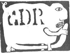 1968 mai CDR. Affiche de l'atelier populaire des Beaux-arts