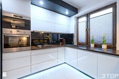 Fresh Kitchen Countertops with White Cabinets