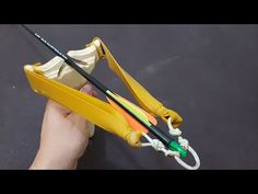 How To Make Simple and Powerful Slingbow ( 48 Pound draw weight) Survival Weapons, Survival Shelter, Camping Survival, Survival Prepping, Survival Gear, Apocalypse Survival, Survival Equipment, Homestead Survival, Zombie Apocalypse
