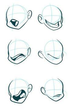 Tutorials chibi base in 2019 drawings, art sketches, art reference. Cartoon Sketches, Cartoon Styles, Cartoon Art, Art Sketches, Art Drawings, Cartoon Mouths, Drawing Cartoon Faces, Drawing Cartoons, How To Draw Cartoons