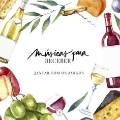 MÚSICAS PARA RECEBER: JANTAR COM OS AMIGOS