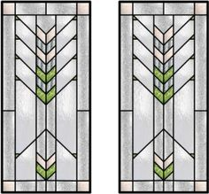 Prairie Style Inspired Stained Glass
