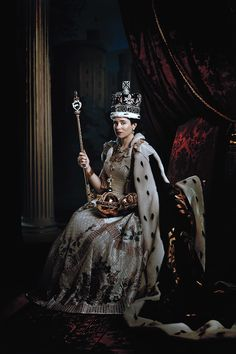 The Stars of Netflix's Royal Drama, The Crown/the story of Queen Elizabeth II.