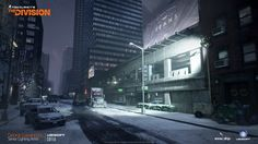 ArtStation - The Division lighting works - streets, Georgi Gavanozov