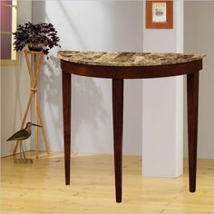 This elegant sofa table is a classic piece to refine your living space or entry way. Crafted with a rich cherry finish, it has a warmth that radiates that is only furthered by a decorative faux marble top. Lifted on three legs, it has a curvaceous front that adds visual depth and a sense of... more details available at https://furniture.bestselleroutlets.com/entryway-furniture/entry-tables/product-review-for-faux-marble-top-console-table-in-light-cherry/
