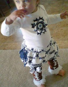 Childrens custom made bloomers from your favorite College or NFL team by NanaJustBananas on Etsy.com $27.00