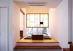 小上り 地窓 Japanese Home Design, Japanese Modern, Japanese House, Asian Interior Design, Diy Interior, Interior And Exterior, Exterior Design, Condo Design, House Design