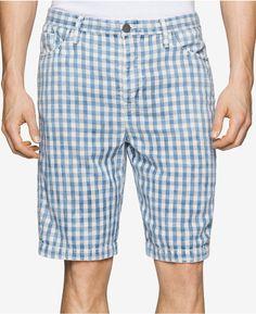 Calvin Klein Jeans Calvin Klein Men's Check-Print Shorts