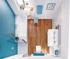 Salle de bain colorée - 55 idées sur les meubles, le carrelage et la peinture murale