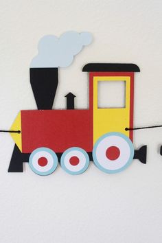 Customizable Train Birthday Banner for train party Thomas Train Birthday, Trains Birthday Party, Birthday Party Themes, K Crafts, Preschool Crafts, Crafts For Kids, Birthday Party Decorations Diy, School Decorations, Transportation Activities