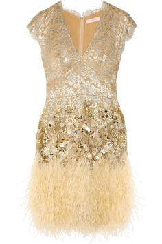 I would wear this to the Grammys! Matthew Williamson - love!!
