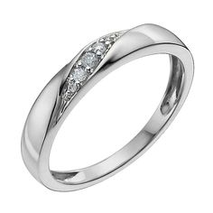 My Wedding ring 9ct White Gold Diamond Ring - Product number 9958622