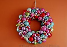 Ornaments | 50 Unexpected Wreaths You Can Make Out Of Anything