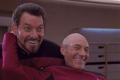 Gag Reels from Star Trek: The Next Generation [VIDEOS]