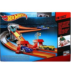 (Ir uz vietas) Mattel Hot Wheels Turbo Race set BGJ10 / BGJ08