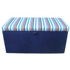 TLC Upholstery Stripes Toy Box TLC Upholstery