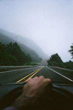 Mountain roads...