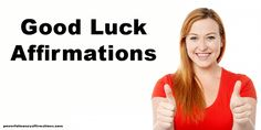 Affirmations for Good Fortune - Good Luck Affirmations