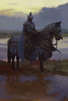 Knight by Jonas de Ro