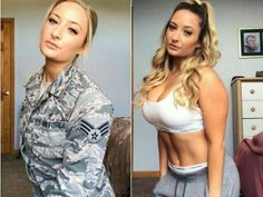 Sexy women who look just as good in a uniform as they do out of it : theCHIVE Beautiful Women Pictures, Gorgeous Women, Amazing Women, Beautiful Beautiful, Beautiful Celebrities, Ashley Benson, Military Girl, Female Soldier, Military Women