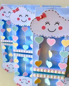Chuva de amor... #chuvadeamor #festainfantil #festachuvadeamor #temachuvadeamor #party #feitoamao #comamor #scrapfesta #caixasushi #coracoes #amor #love #detalhesqueamamos #fazadiferenca #mimosdemalu