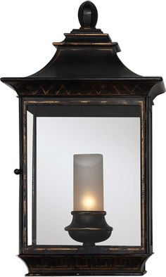 Large Regency Wall Lantern   Circa Lighting