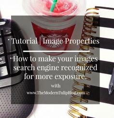 Tutorial | Image Properties