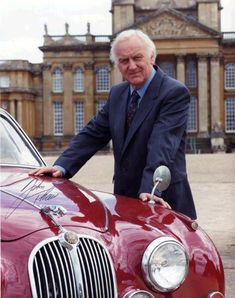 Detective Of The Day - John Thaw as Inspector Morse