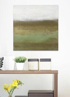 Modern Canvas Art Original Contemporary Abstract by passthepaint