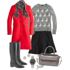 JCrew Christmas Outfit