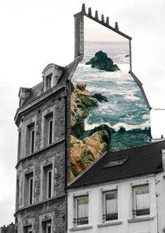Murales urbanos dedicados a la naturaleza. ¡Nos encanta!