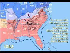 http://storiesofusa.com/american-civil-war-timeline-battlefields-1854-1865/ - American Civil War Timeline 1861-1865