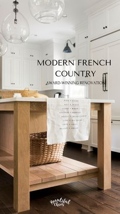Fantastic modern french decorating ideas are available on our internet site. loo… Fantastic modern french decorating ideas are available on our internet site. look at this and you will not be sorry you did. Modern French Country, French Country Kitchens, French Country House, French Country Decorating, Modern French Kitchen, French Style, Modern French Decor, French Chic, Ikea Hacks