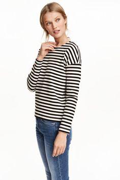 Pruhované bavlněné triko | H&M