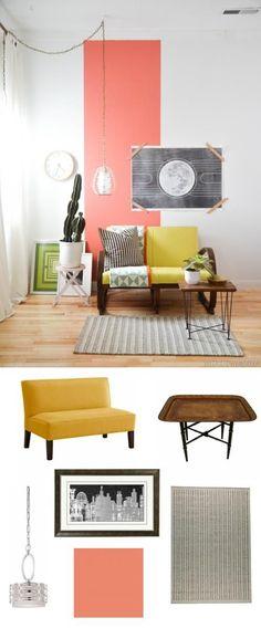 bright accent furniture   #adoredecor #homedecor #interiordesign #livingroom
