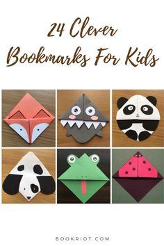 Because the kids deserve awesome bookmarks, too.   bookmarks | bookmarks for kids | kids bookmarks