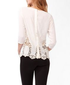 Eyelet Embroidered Top | FOREVER21 - 2031556664