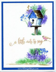 For The Birds Watercolors by A Design By Lyn - Cards and Paper Crafts at Splitcoaststampers