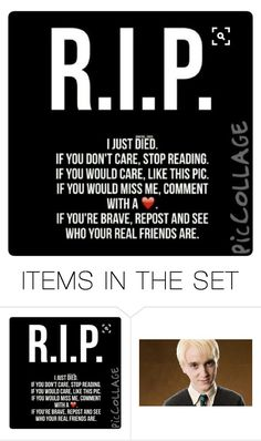 """""""R.I.P"""" by jackfrost1904 ❤ liked on Polyvore featuring art"""